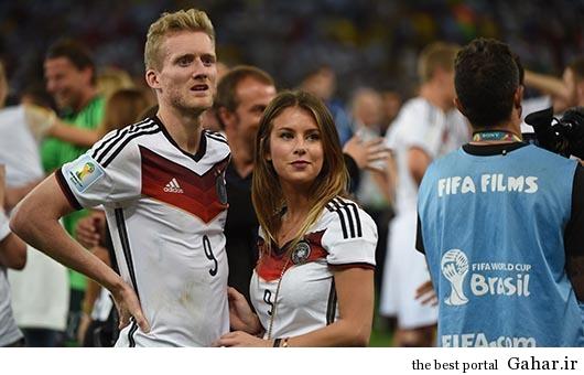 poiuy جشن قهرمانی آلمان ها با همسرانشان