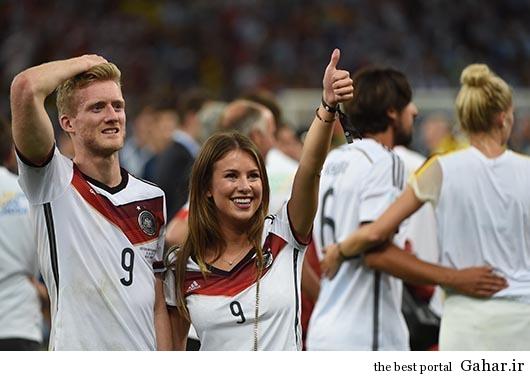 poiuyt جشن قهرمانی آلمان ها با همسرانشان