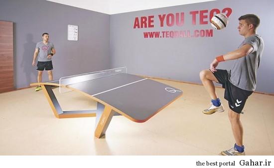tecball ابداع ورزش جدید تک بال
