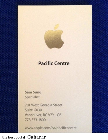9305 6t1303 وقتی سامسونگ از اپل جدا شد / عکس