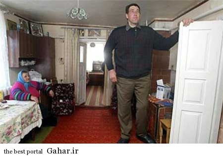 9306 7m1185 بلندترین مرد جهان درگذشت / عکس