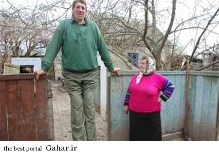 9306 7m1186 بلندترین مرد جهان درگذشت / عکس