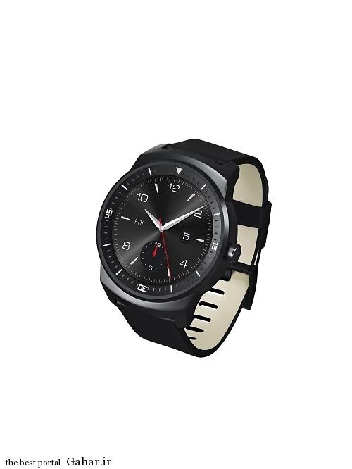 LG G WATCH R 04 رونمایی ال جی از ساعت هوشمند  G Watch R