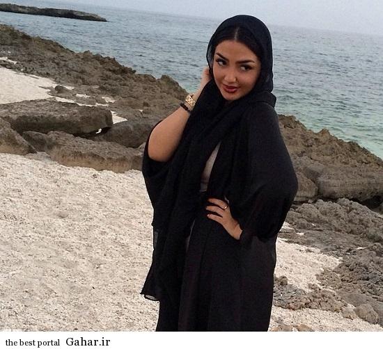 عکس زنان جالب کنار ساحل