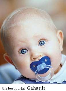ba2373 پستانک برای کودک ضرر دارد؟