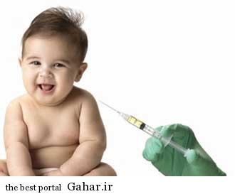واکسیناسیون نوزاد+تب