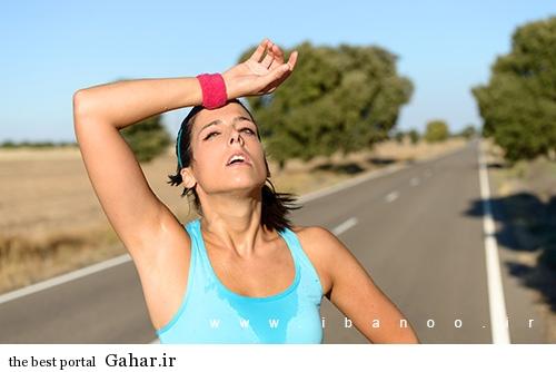 sweating 3 روش های جلوگیری از عرق کردن زیاد