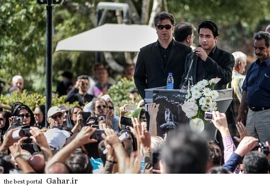 tashi simin behbahani2 مراسم تشییع سیمین بهبهانی با حضور بزرگان شعر و موسیقی / عکس