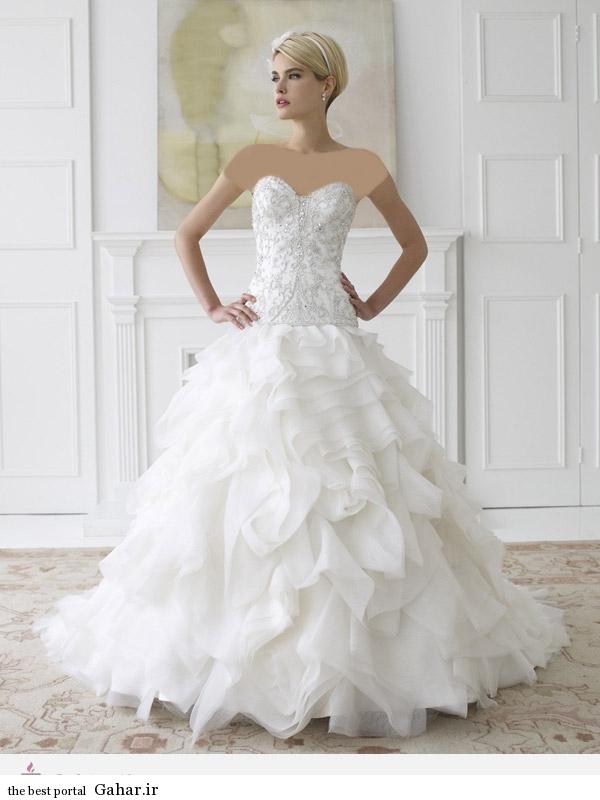 111133 مدل 2014 لباس عروس برند ValStefani