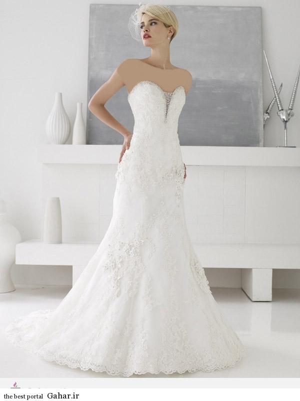 15550 مدل 2014 لباس عروس برند ValStefani