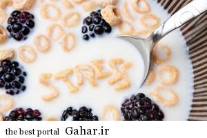 209416 برای کم کردن استرس از این غذاها استفاده کنید