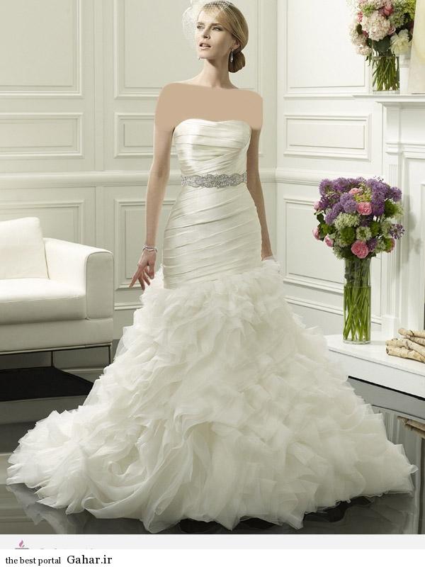 31117 مدل 2014 لباس عروس برند ValStefani