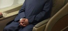 اولین عکس روحانی در بازگشت از نیویورک
