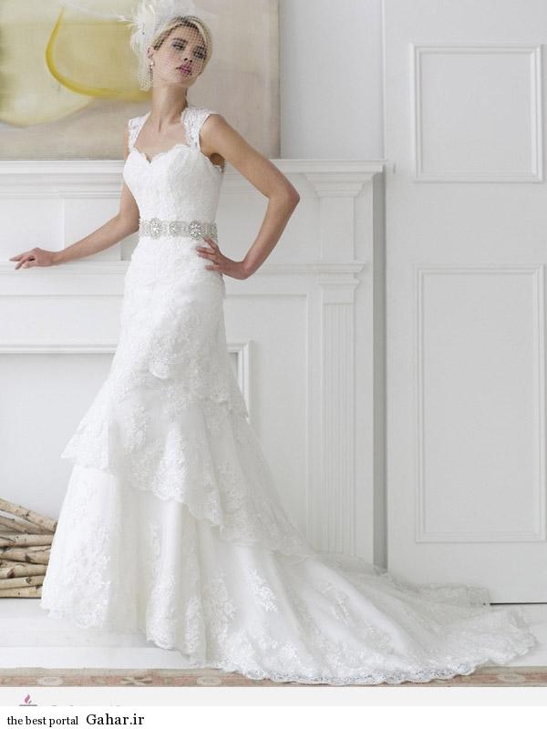 7804 مدل 2014 لباس عروس برند ValStefani