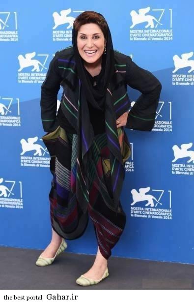 Fatemeh Motamed Aria 2 تیپ عجیب و متفاوت فاطمه معتمد آریا در جشنواره فیلم ونیز