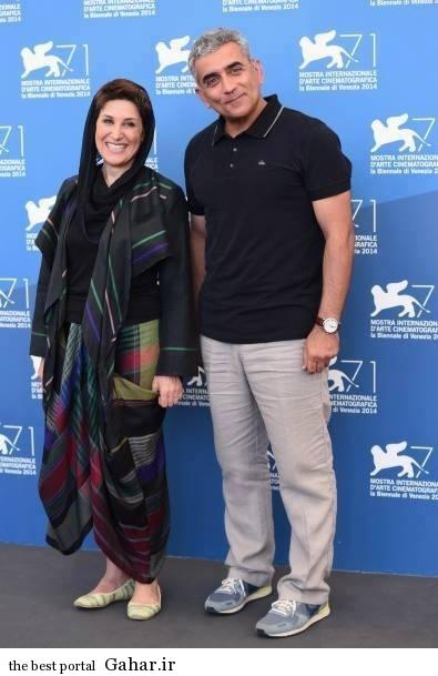 Fatemeh Motamed Aria 3 تیپ عجیب و متفاوت فاطمه معتمد آریا در جشنواره فیلم ونیز