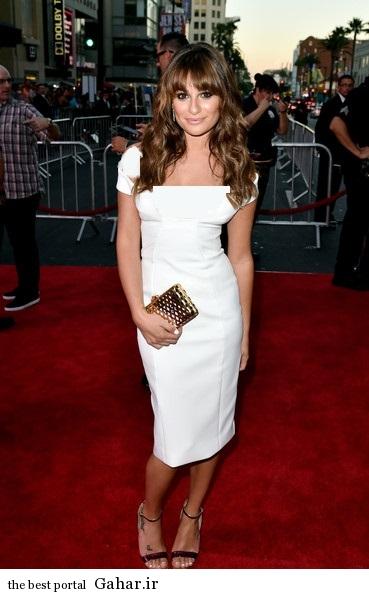 Lea Michele Premiere Screening FX Sons Anarchy 59l29S4yd0sl عکس های جدید لی میشل در کالیفرنیا