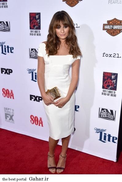 Lea Michele Premiere Screening FX Sons Anarchy 5wq68YuUxc3l عکس های جدید لی میشل در کالیفرنیا