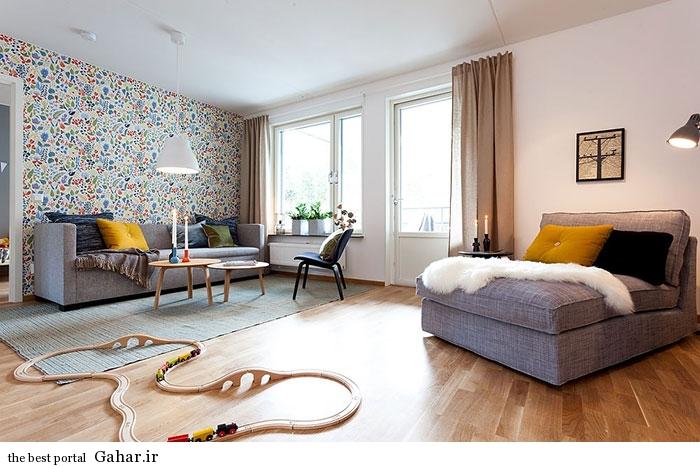 mail 14 دکوراسیون آپارتمانی به سبک اسکاندیناوی در سوئد