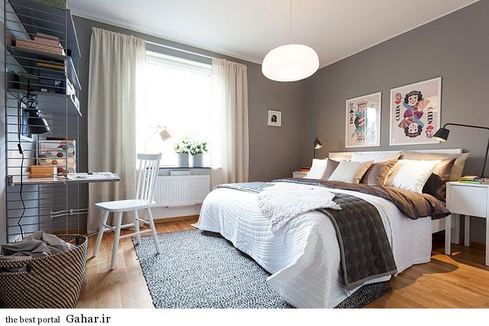 mail 33 دکوراسیون آپارتمانی به سبک اسکاندیناوی در سوئد