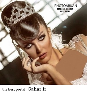 model arayesh aroos 1 مدل میکاپ عروس فوق العاده زیبا 2014