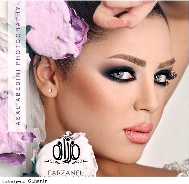 model arayesh aroos 8 مدل میکاپ عروس فوق العاده زیبا 2014