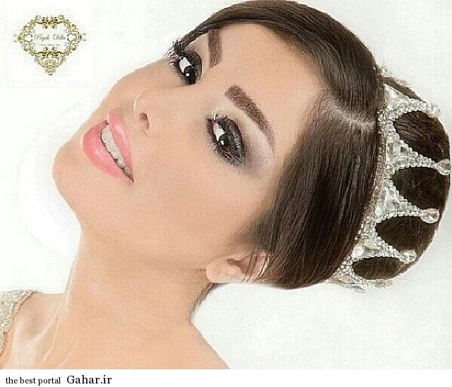 model arayesh aroos 9 مدل میکاپ عروس فوق العاده زیبا 2014