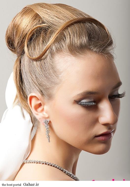 model moo aroos 2014 2 عکس های زیباترین مدل موی عروس