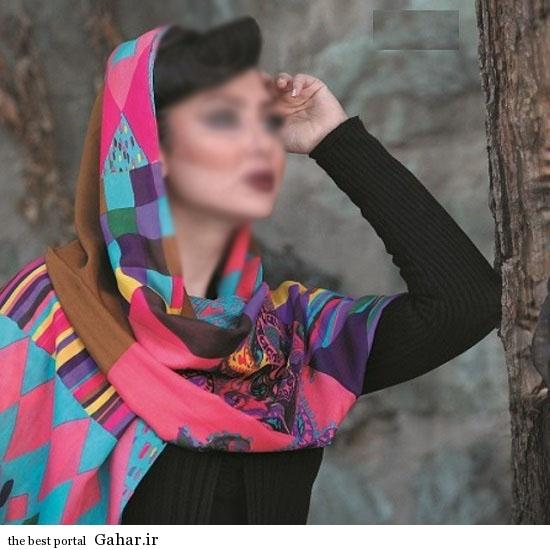 shl.roos 18 مدل شال و روسری طرح دار فوق العاده شیک 93