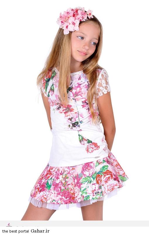 13912 مدل جدید لباس دخترانه 2015 برند Laura Biagiotti