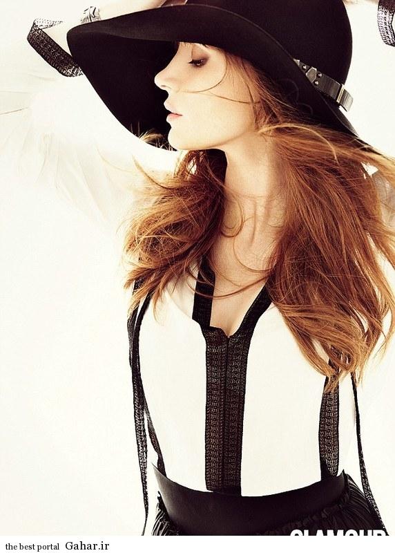 1412697368600 wps 17 At age 31 Jessica Chastai فتوشات های جسیکا چاستین برای مجله Glamour