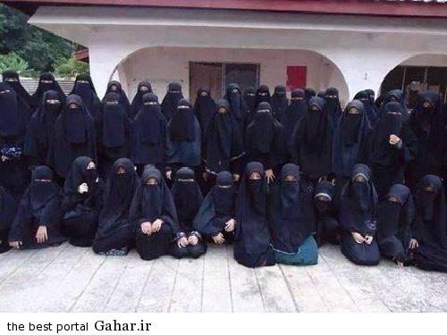 2693123 702 همه همسران ابوبکر البغدادی / عکس