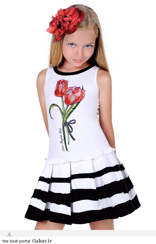 31336 مدل جدید لباس دخترانه 2015 برند Laura Biagiotti