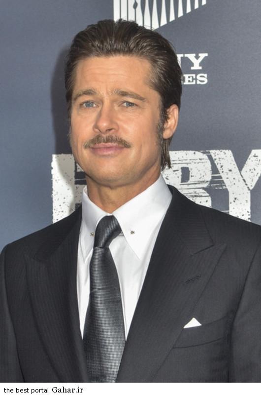 Brad Pitt Fury Premieres Washington DC XUth7t PNE عکس های برد پیت در فرش قرمز فیلم The Fury