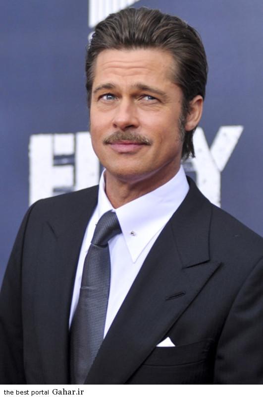 Brad Pitt Fury Premieres Washington DC z0ul R3 G a عکس های برد پیت در فرش قرمز فیلم The Fury