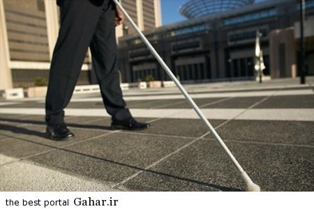 IMG12410898 جدیدترین عصا برای نابینایان
