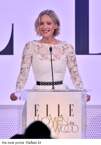 Jennifer Lawrence ELLE 21st Annual Women Hollywood 9gE9ELIexa4l عکس های جدید سخنرانی جنیفر لارنس