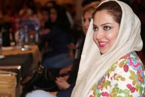 عکس های لیلا اوتادی در مراسم رونمایی آلبوم امیر مولایی