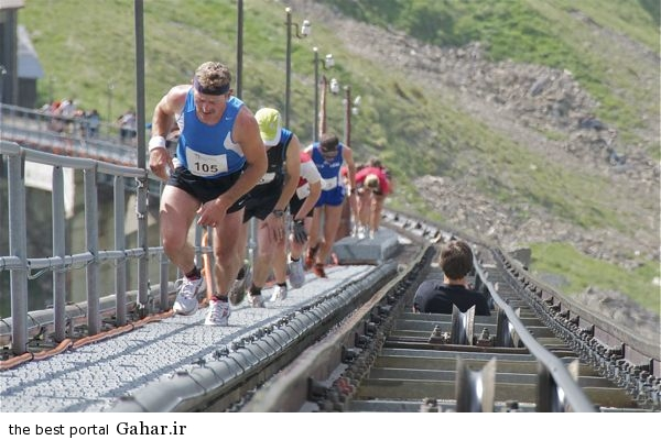 Niesenlauf race2 مسابقه جالب پله نوردی