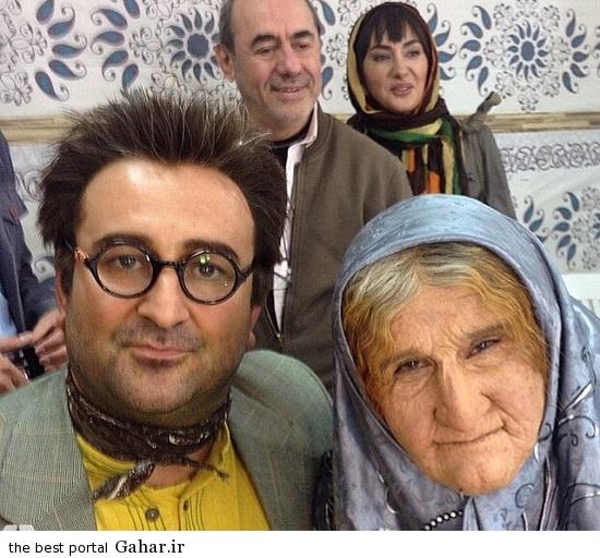 Seryal Ablah 7 عکس های دیدنی از پشت صحنه سریال ابله