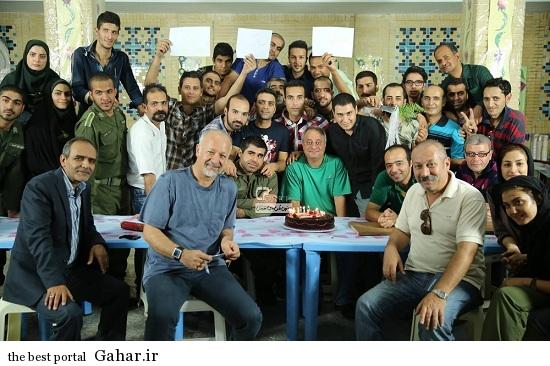 Seryal Zakhm 43 جدیدترین عکس های پشت صحنه سریال زخم