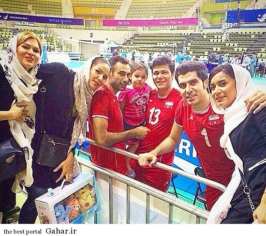 Volleyball 142 ویژه ترین عکس های خانواده والیبالیست ها در اینچئون