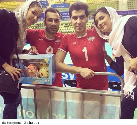 Volleyball 143 ویژه ترین عکس های خانواده والیبالیست ها در اینچئون