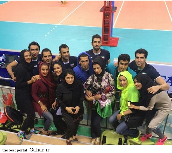 Volleyball 144 ویژه ترین عکس های خانواده والیبالیست ها در اینچئون