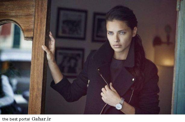 adriana lima karolina kurkova photoshoot for iwc watches 2014 campaign 4 فتوشات های تبلیغاتی آدریانا لیما