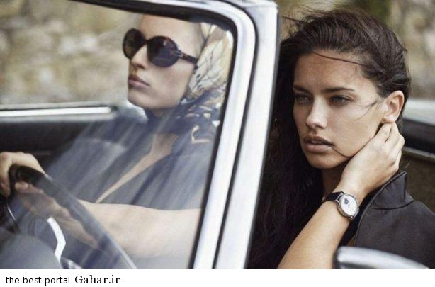 adriana lima karolina kurkova photoshoot for iwc watches 2014 campaign 5 فتوشات های تبلیغاتی آدریانا لیما