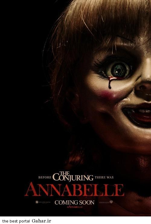 annabelle poster دانلود تریلر جدید فیلم ترسناک Annabelle
