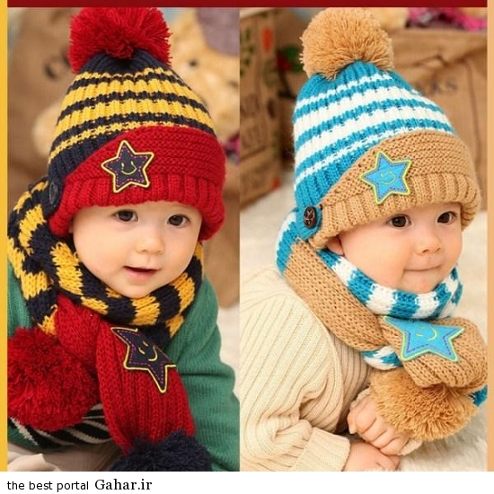 e4de174e5c مدل جدید کلاه و شال پسرانه