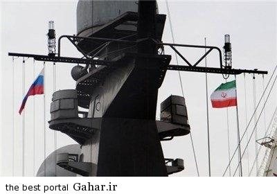 efrdfdg2 حضور دو ناو روسی در سواحل شمال ایران
