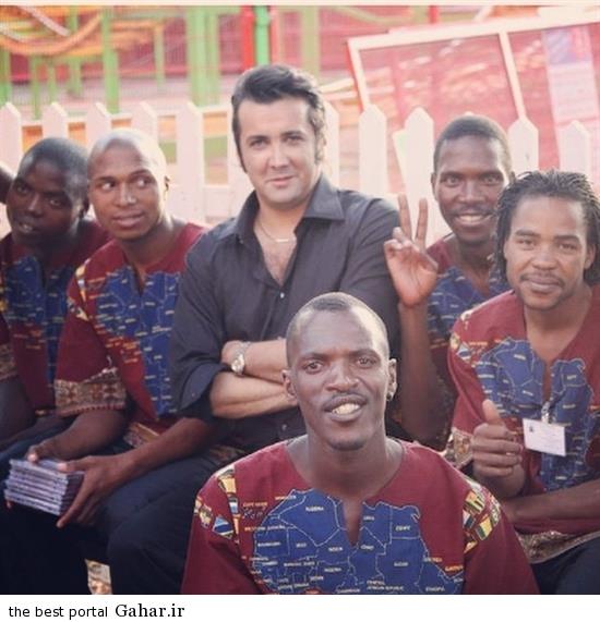etahld6bgyatppkj3ixt عکس جدید حسام نواب صفوی در آفریقا